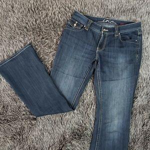 INC International Concepts Curvy Fit Boot Cut Jean